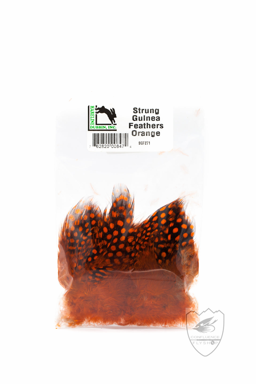 Strung Guinea Feathers,Feathers,HARELINE DUBBIN INC.-Confluence Fly Shop