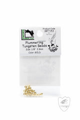 Tungsten Beads- Round,Beads,Hareline Dubbin Co-Confluence Fly Shop
