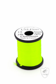 Uni-Floss Neon,Thread,HARELINE DUBBIN INC.-Confluence Fly Shop