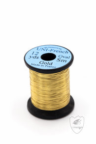 French Oval Tinsel,Tinsel,HARELINE DUBBIN INC.-Confluence Fly Shop