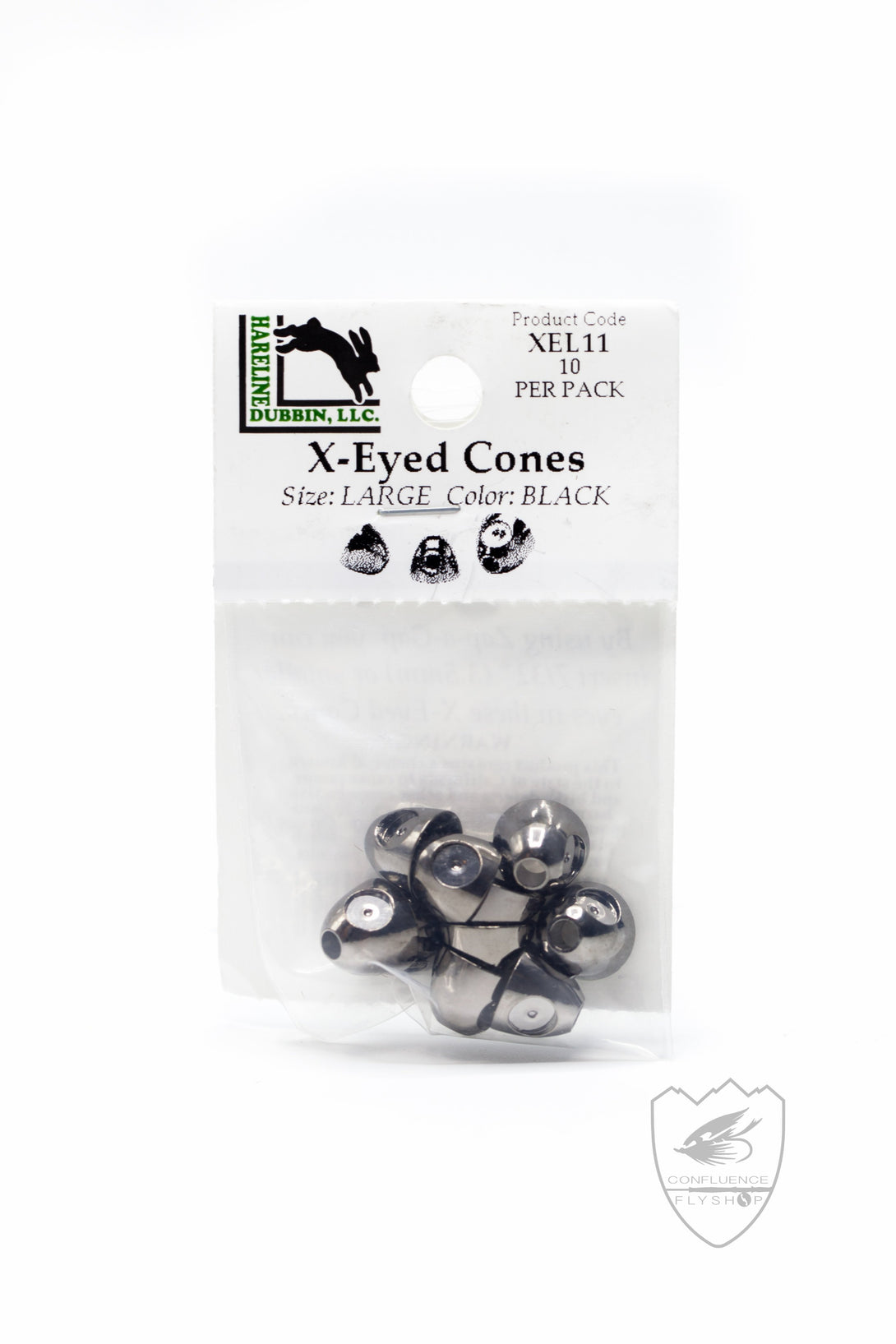 X-Eyed Cones,Beads,Hareline Dubbin Inc-Confluence Fly Shop