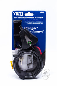 Yeti Security Cable Lock & Bracket,Yeti,Yeti-Confluence Fly Shop