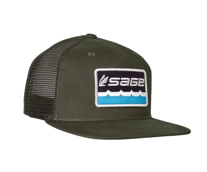 Sage Patch Trucker Hat,HATS,FARBANK ENTERPRISES-Confluence Fly Shop