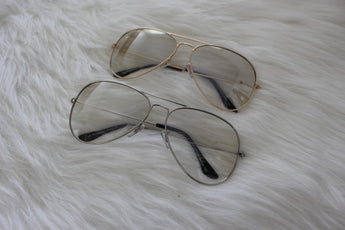Tinted Aviator Glasses