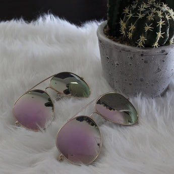 Leah Oversized Aviators