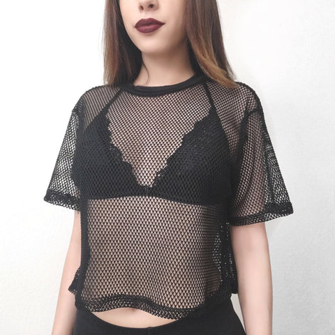 Stella Fishnet Top