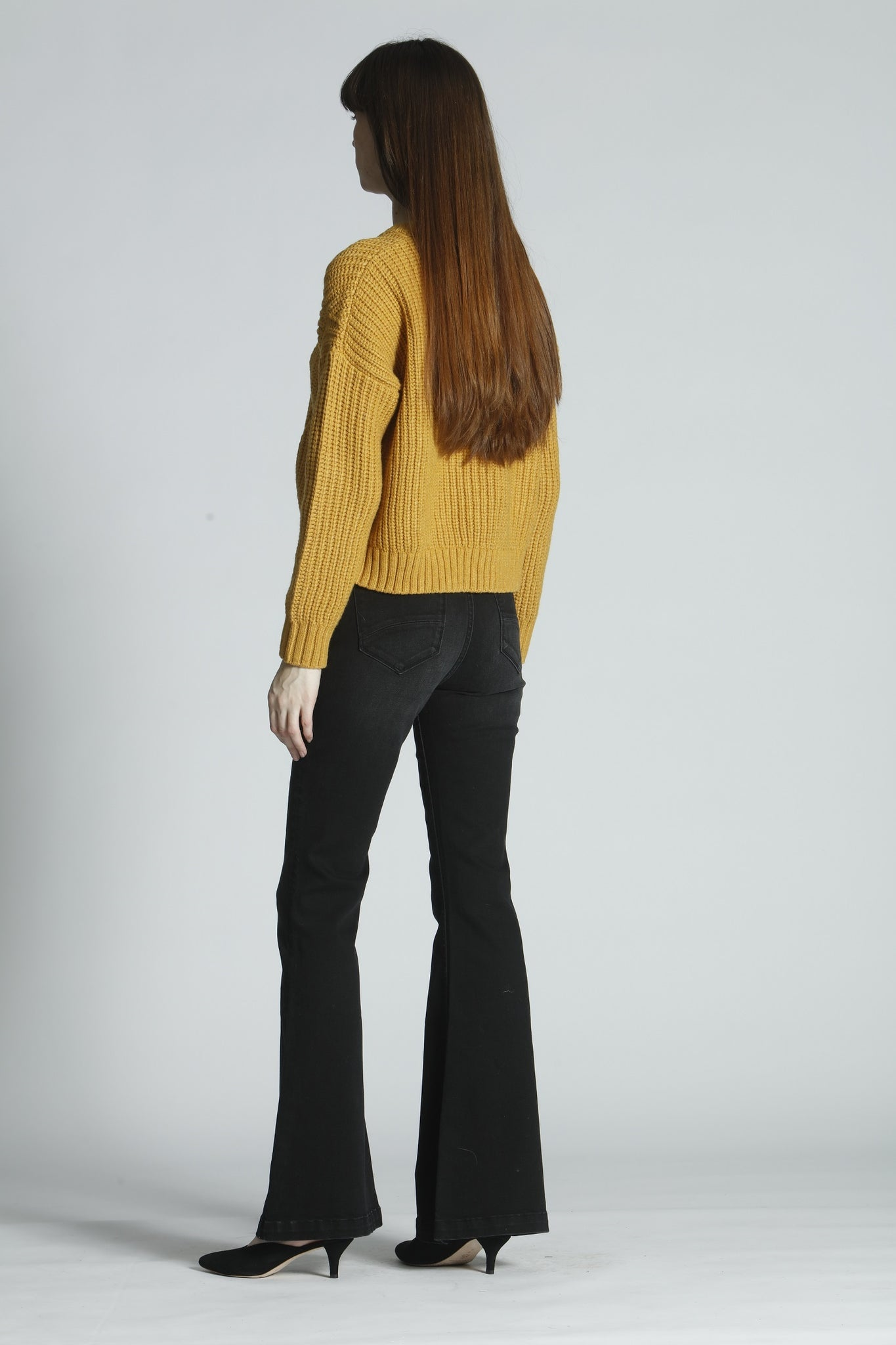 Tess Trouser Flare - Button Fly