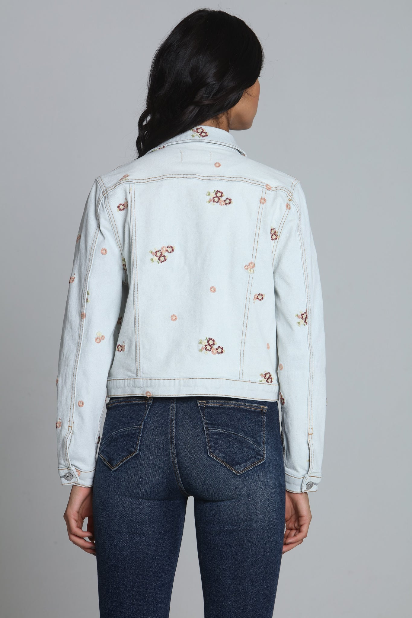 Crop Jacket - Berries