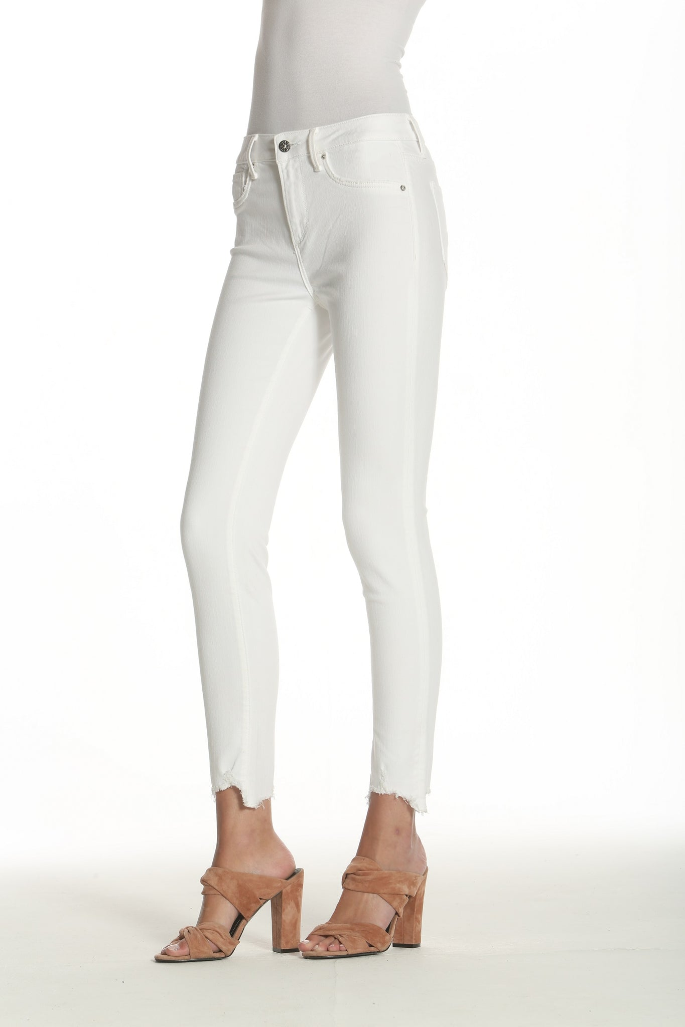 Jackie Skinny - Downtown White