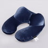U-Shape Airplane Inflatable Neck Pillow