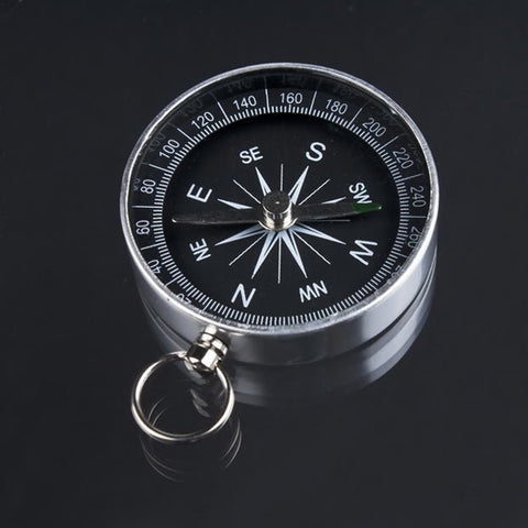 Mini Camping Lightweight Aluminum Compasses