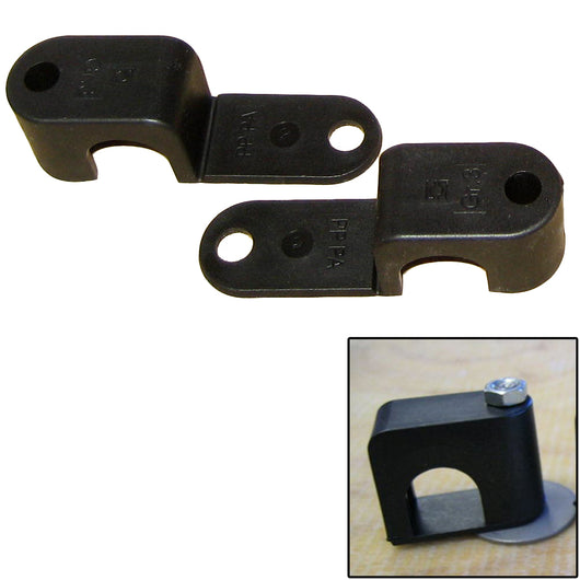 Weld Mount Single Poly Clamp f/1/4