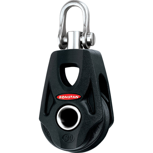 Ronstan Series 30 Ball Bearing Orbit Block - Single - Becket - Swivel Shackle Head [RF35100]