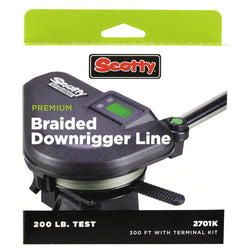 Scotty Premium Power Braid Downrigger Line - 300ft of 200lb Test [2701K]