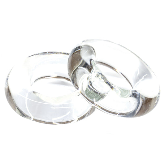 Tigress Glass Outrigger Rings - Pair [88650]