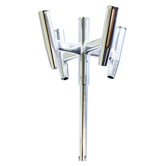 Tigress Five Banger Aluminum Rod Holder - Straight Butt [88157]