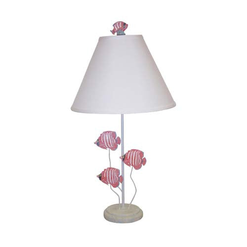 Red Tropical Fish Lamp