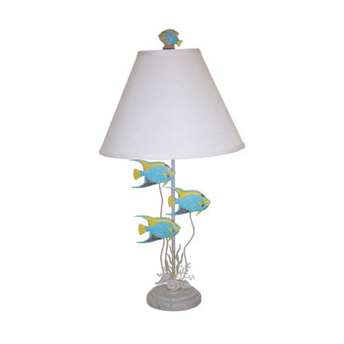 Tropical Angelfish 2 Lamp