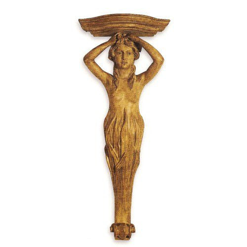 Mermaid Alabaster Wall Sconce