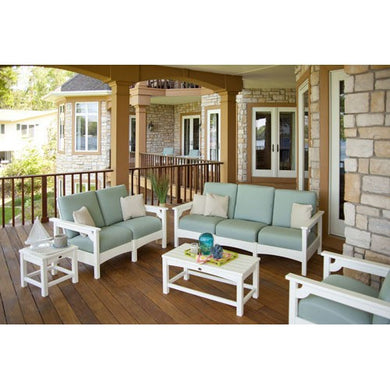 Five Piece Outdoor Patio Set W/ Nine Sunbrella Fabric and Three Frame Choices