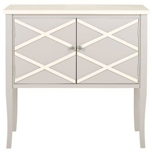 Winona Gray and White Sideboard