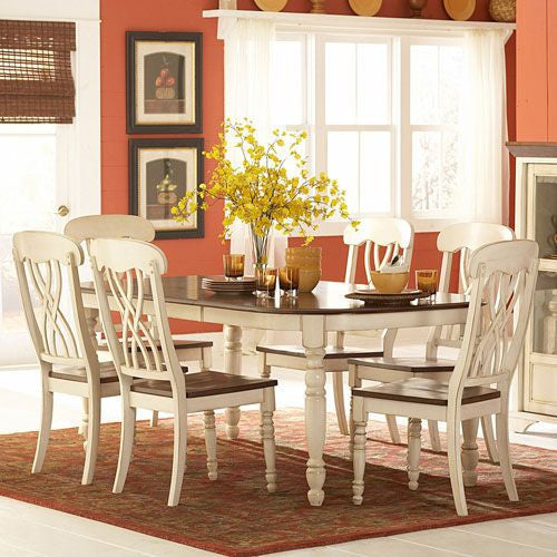 Seven Piece Cottage Dining Set