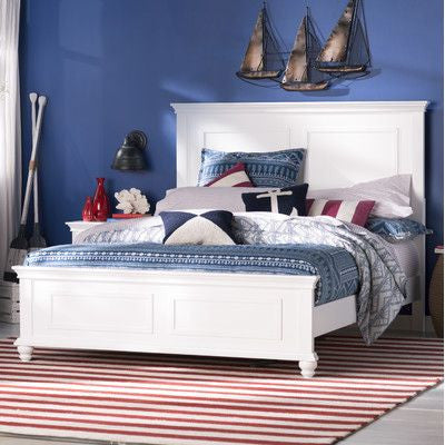 Cape Cod Panel Bed - King