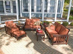 Mission Five Piece Outdoor Seating Group