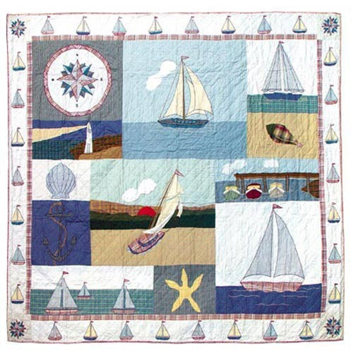 Nautical Quilt Twin