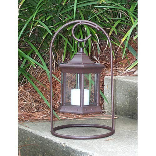 Set of Two Tabletop Solar Lanterns