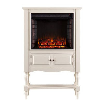 Small Tower Electric Fireplace
