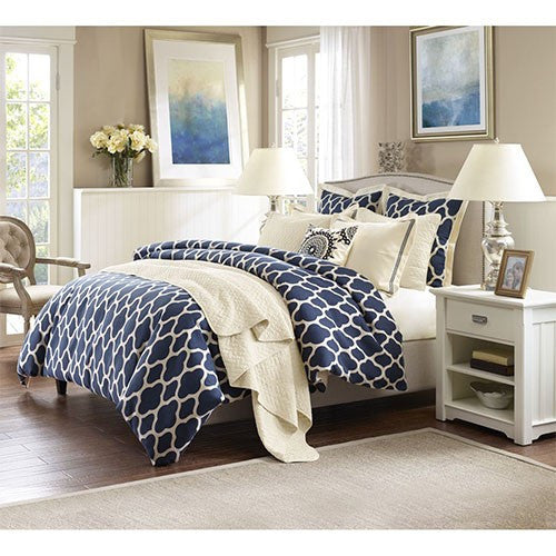 Hamptons Queen Seven Piece Quilt Set