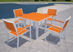 Pollywood Outdoor Casual Dining Set