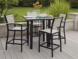 Hollywood Euro Outdoor Bar Height Table and Chairs