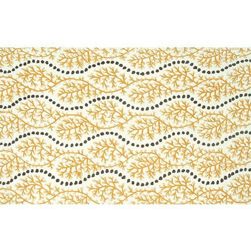Yellow Wave Rug