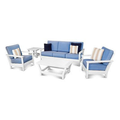Harbor 5 Piece Deep Seating Group