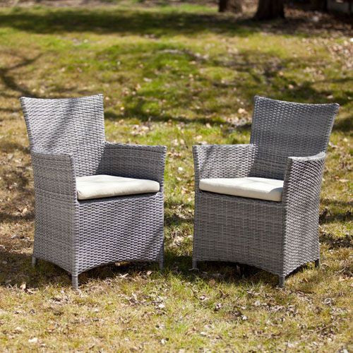 Set of Two Bristow Outdoor Arm Chairs