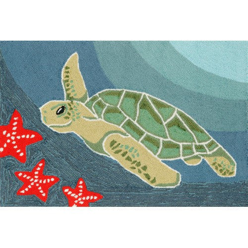 Sea Turtle Porch Entrance Rug