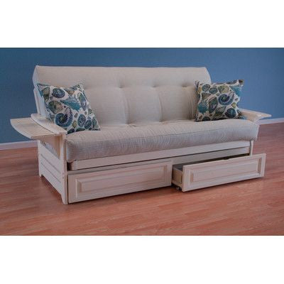 Naples Futon with Drawers