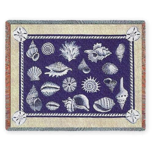 Shell Collection Throw