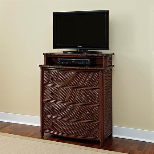 Marco Island Cinnamon Media Chest