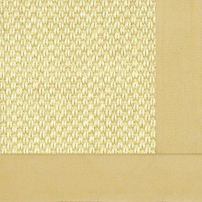 9 x 12 Bordered Honeycomb Sisal Rug