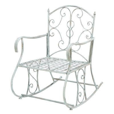 Shabby Chic Outdoor Rocking Chair