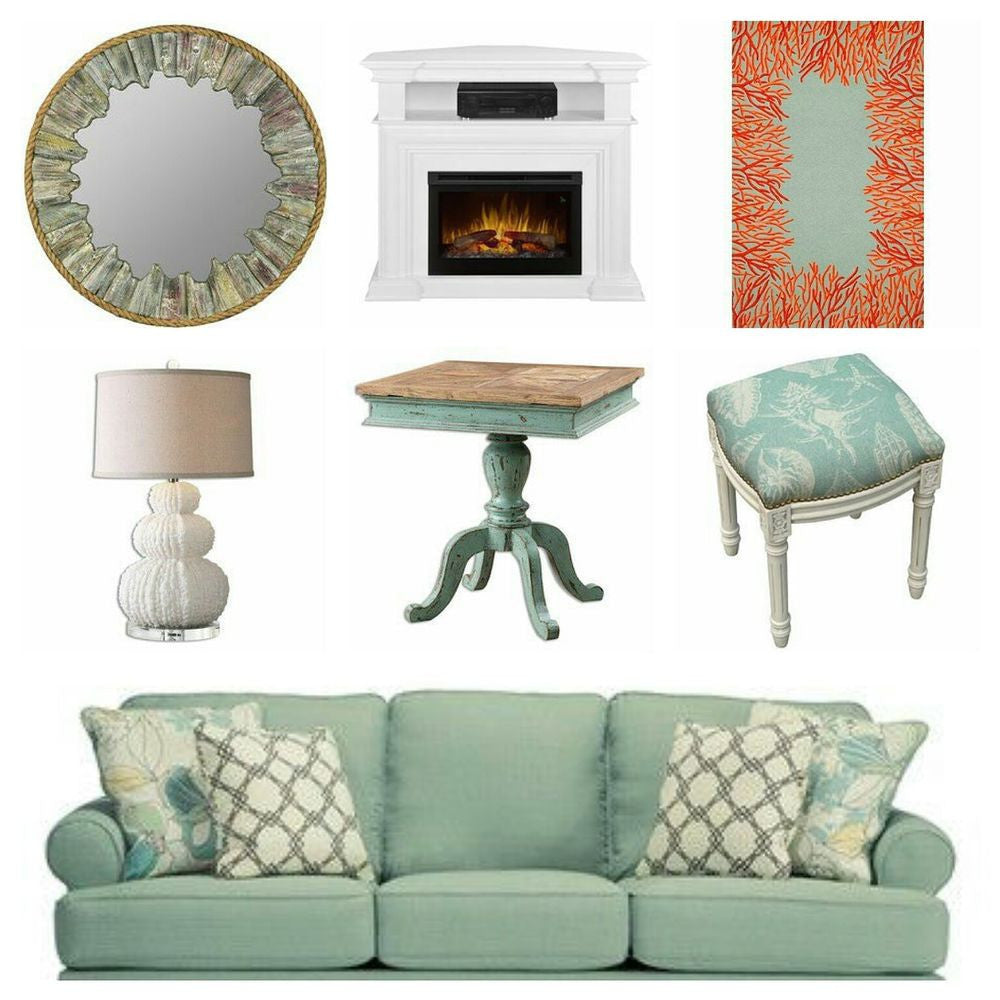 Seafoam Instant Den Guest Room With 8'3