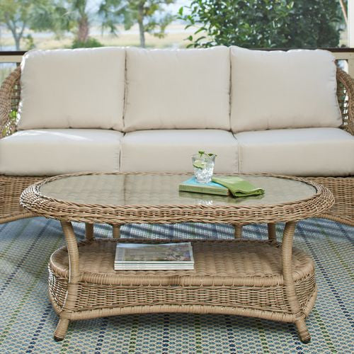 Lynwood Outdoor Oval Coffee Table