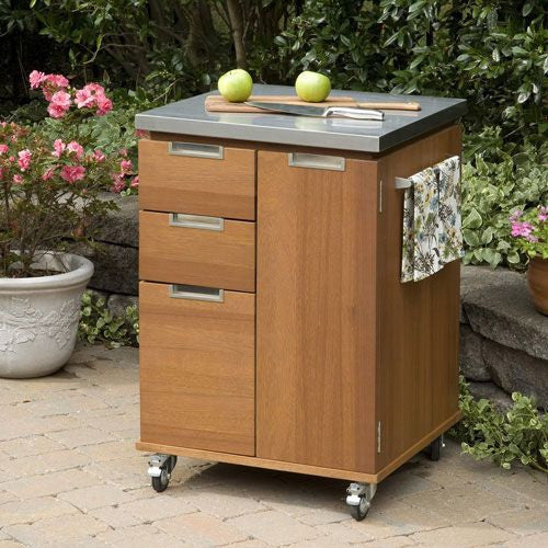 Outdoor Kitchen Island Cart