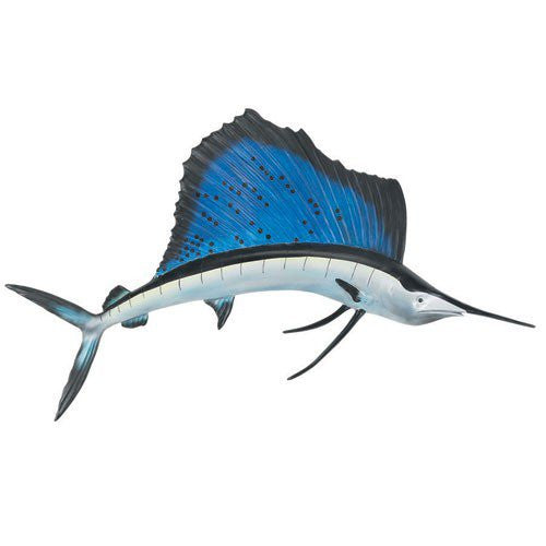 Sailfish Outdoor Wall Sculpture