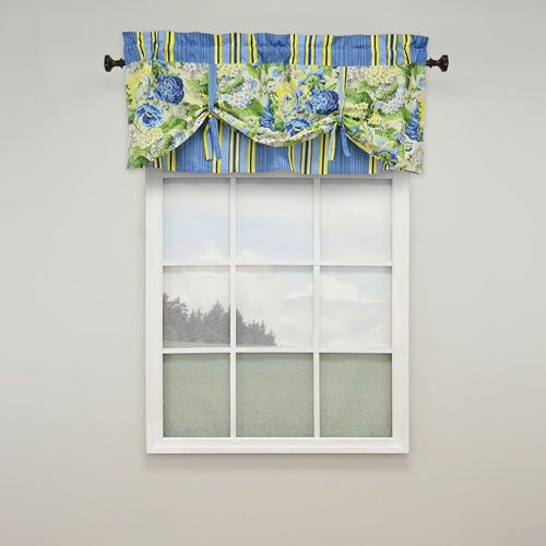 Floral Finish Valance