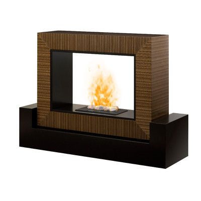 Freestanding Modern Electric Fireplace