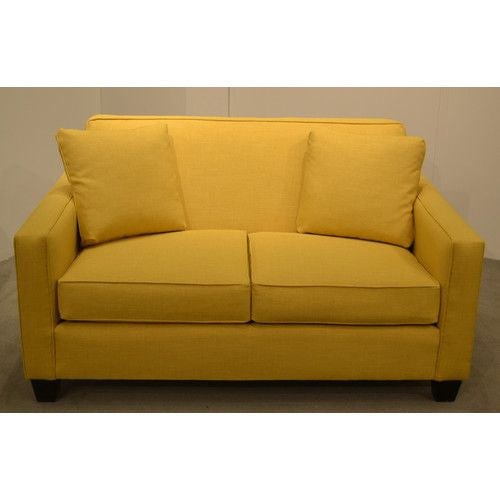 Two Seat Yellow Loveseat